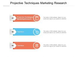 Projective Techniques Marketing Research Ppt Powerpoint Presentation Outline Cpb