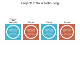 Projects Data Warehousing Ppt Powerpoint Presentation Model Graphics Cpb