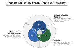 Promote Ethical Business Practices Reliability Financial Reporting Knowledge Business