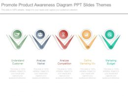 Promote Product Awareness Diagram Ppt Slides Themes