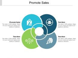 Promote Sales Ppt Powerpoint Presentation Slides Microsoft Cpb