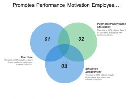 Promotes Performance Motivation Employee Engagement Equality Diversity Health Safety