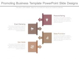 Promoting Business Template Powerpoint Slide Designs
