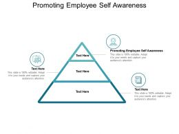 Promoting Employee Self Awareness Ppt Powerpoint Presentation Summary Ideas Cpb