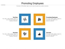 Promoting Employees Ppt Powerpoint Presentation Icon Background Designs Cpb