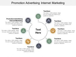 Promotion Advertising Internet Marketing Ppt Powerpoint Presentation Summary Display Cpb