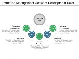 Promotion Management Software Development Sales Process Strategic Workforce Planning Cpb