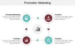 Promotion Marketing Ppt Powerpoint Presentation Infographic Template Show Cpb