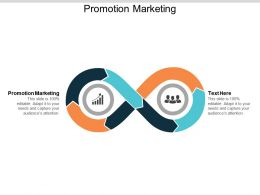 Promotion Marketing Ppt Powerpoint Presentation Outline Gridlines Cpb