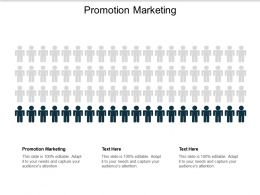 Promotion Marketing Ppt Powerpoint Presentation Outline Layout Cpb