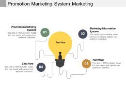 Promotion Marketing System Marketing Information System Ethnic Marketing Cpb