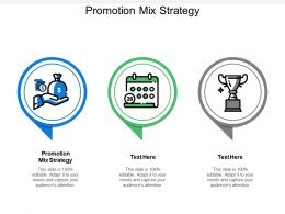 Promotion Mix Strategy Ppt Powerpoint Presentation Infographics Themes Cpb