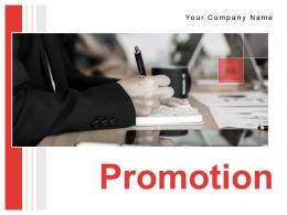 Promotion Powerpoint Presentation Slides