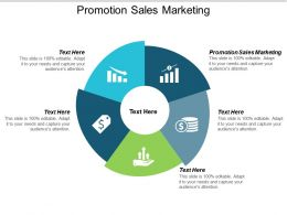 Promotion Sales Marketing Ppt Powerpoint Presentation Icon Templates Cpb