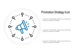 Promotion Strategy Icon