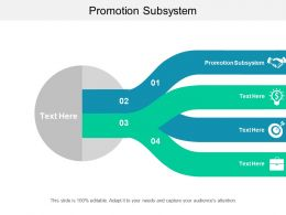 Promotion Subsystem Ppt Powerpoint Presentation Professional Information Cpb