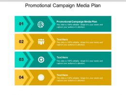 Promotional Campaign Media Plan Ppt Powerpoint Presentation Styles Cpb