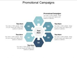 Promotional Campaigns Ppt Powerpoint Presentation Show Design Ideas Cpb