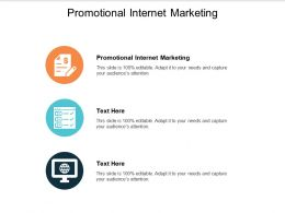 Promotional Internet Marketing Ppt Powerpoint Presentation Portfolio Vector Cpb