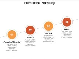 Promotional Marketing Ppt Powerpoint Presentation Gallery Layout Cpb