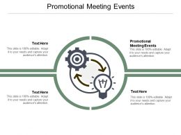 Promotional Meeting Events Ppt Powerpoint Presentation Infographic Template Visuals Cpb