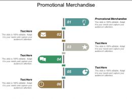 Promotional Merchandise Ppt Powerpoint Presentation Icon Pictures Cpb