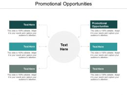 Promotional Opportunities Ppt Powerpoint Presentation Infographics Slides Cpb