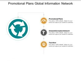 Promotional Plans Global Information Network Business Process Management Products Cpb