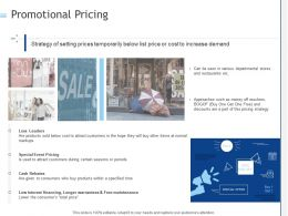 Promotional Pricing Ppt Powerpoint Presentation Styles Information