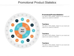 Promotional Product Statistics Ppt Powerpoint Presentation File Graphics Template Cpb