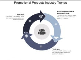 Promotional Products Industry Trends Ppt Powerpoint Presentation Infographics Styles Cpb