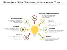 Promotions Sales Technology Management Tools Customer Retention Modeling