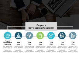 Property Development Feasibility Ppt Powerpoint Presentation Portfolio Clipart Images Cpb