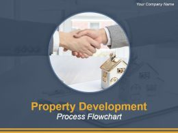 Property Development Process Flowchart Powerpoint Presentation Slides