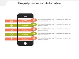 Property Inspection Automation Ppt Powerpoint Presentation Outline Graphics Template Cpb