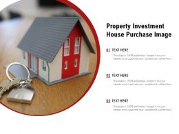 Property Investment House Purchase Image