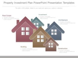 Property Investment Plan Powerpoint Presentation Templates
