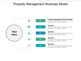Property Management Business Model Ppt Powerpoint Presentation Ideas Microsoft Cpb