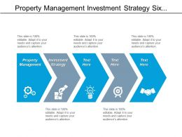 Property Management Investment Strategy Six Sigma Process Management Cpb