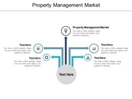 Property Management Market Ppt Powerpoint Presentation Pictures Professional Cpb
