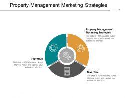 Property Management Marketing Strategies Ppt Powerpoint Presentation Inspiration Design Templates Cpb