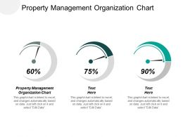 Property Management Organization Chart Ppt Powerpoint Presentation Portfolio Demonstration Cpb