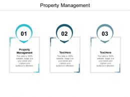 Property Management Ppt Powerpoint Presentation Gallery Clipart Images Cpb