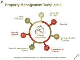 Property Management Rent Collection Ppt Powerpoint Presentation File Inspiration
