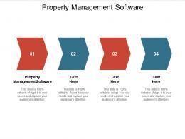 Property Management Software Ppt Powerpoint Presentation Outline Brochure Cpb