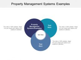 Property Management Systems Examples Ppt Powerpoint Presentation Ideas Cpb