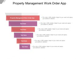 Property Management Work Order App Ppt Powerpoint Presentation Inspiration Cpb