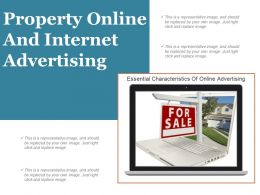 Property Online And Internet Advertising Ppt Slide Template