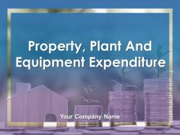 Property Plant And Equipment Expenditure Powerpoint Presentation Slides
