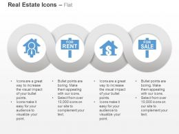 Property Rent Dollar Sale Board Ppt Icons Graphics